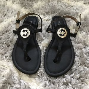 black Michael Kors sandals